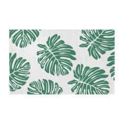 Tropical All Over Print Leaves