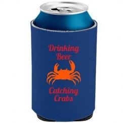 Drinking Beer Get'n Crabs
