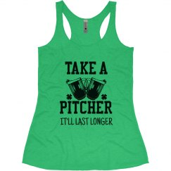 St. Patrick's Day Take A Pitcher
