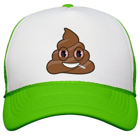 1b777c7b1eb High As Shit Neon Snapback Trucker Hat