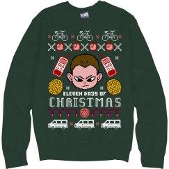 A Stranger Christmas Sweater