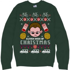 A Stranger Christmas Sweater