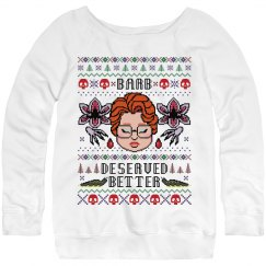 Barb Tribute Xmas Sweater