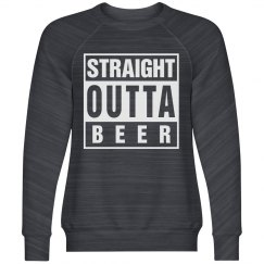 Straight Outta Beer Trendy Guy