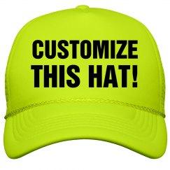 Custom Neon Hat