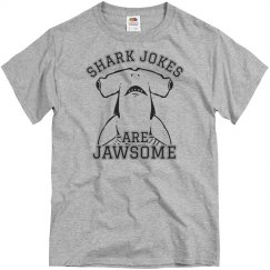 Shark Jokes Are Jawesome