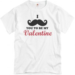 Mustache Valentine