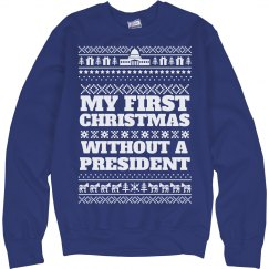 Xmas Without A President Sweater