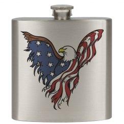 American Eagle Flask