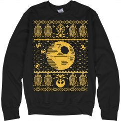 War In Stars Ugly Sweater