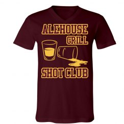 Shot Club Tee (Maroon)