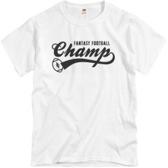 Fantasy Football Champ T-Shirt