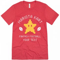 Mariota Kart Fantasy Football Team