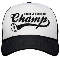 Fantasy Football Champ Cap