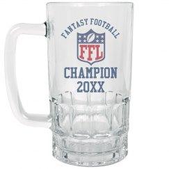Custom Year Fantasy Football Champ