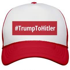 Hashtag Trump To Hitler Red
