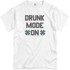Irish Drunk Mode On