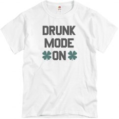 Irish Drunk Mode On