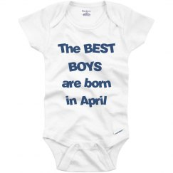 Best boys born in April
