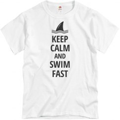 Keep Calm Swim Fast