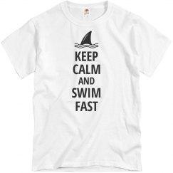 Keep Calm Swim Fast
