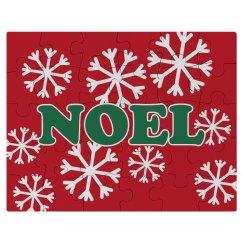 Cute Noel Kid's Puzzle