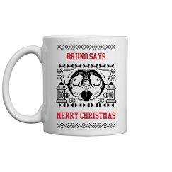 Paws Christmas Mug