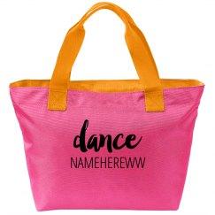Dance Girl Sport Bag Namehereww