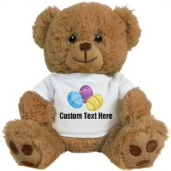 Custom Text Easter Basket Gift