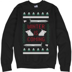 Winter Coming Ugly Sweater