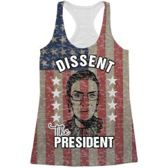 All Over Print Dissent RBG