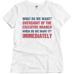 Oversight of the Executive Branch