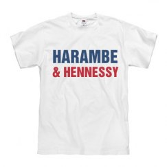 Harambe & Hennessy Political Tee