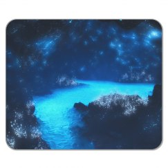 Lighted Cave Mousepad