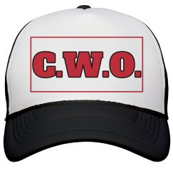 CWO Cap Blk/Red