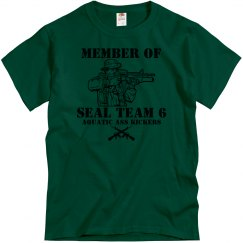 Member of Seal Team 6