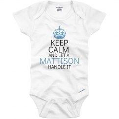 Let a mattison handle it