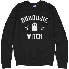 Cozy Warm Boooujie Witch