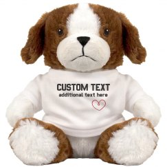 Custom Cute Puppy Gift