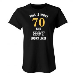 70 and hot looks like