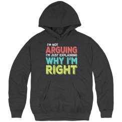 I'm Right Unisex Ultimate Cotton Heavyweight Hoodie