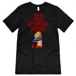 Feminist Agenda Unisex Jersey Tee