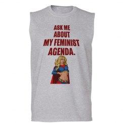 Feminist Agenda Sleeveless Tee