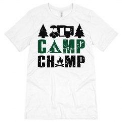 Camp Champ Unisex Jersey Tee