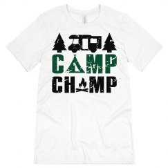 Camp Champ Unisex Jersey Tee