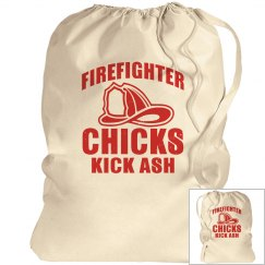 Firefighter Chicks Kick Ash Laundry