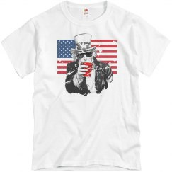 Uncle Sam Party T-Shirt
