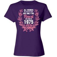 Finest women are born in 1975