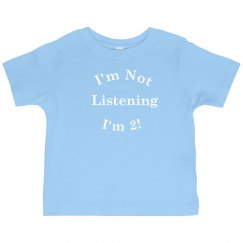 I'm 2 Toddler Shirt