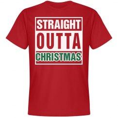 STRAIGHT OUTTA CHRISTMAS